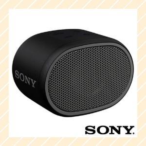ワイヤレスポータブルスピーカー 防水 Bluetooth対応 ブラック SRS-XB01B SONY ソニー|rijapan