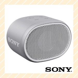 ワイヤレスポータブルスピーカー 防水 Bluetooth対応 ホワイト SRS-XB01W SONY ソニー|rijapan