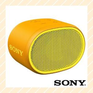 ワイヤレスポータブルスピーカー 防水 Bluetooth対応 イエロー SRS-XB01Y SONY ソニー|rijapan