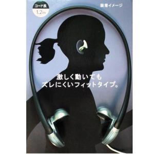 インザイヤータイプ ステレオヘッドホン シルバー HAO-IM002SL 【×メール便不可】 rijapan
