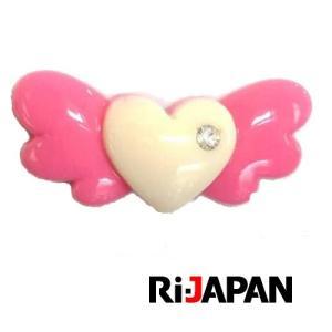 イヤホンジャック専用アクセサリー ハートモチーフ ピンク RIPP-001BPK RiJAPAN メール便可 ポスト投函|rijapan