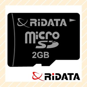 microSDカード 2GB 80X microSD2GB.80X RiDATA メール便OK ポスト投函|rijapan