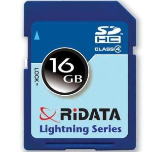 ライテック製 RiDATA SDHCカード 16GB class4 【○メール便可】 SDHC16GB.class4|rijapan