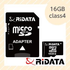 ライテック製 RiDATA microSDHCカード 16GB class4 【○メール便可】 microSDHC16GB class4|rijapan