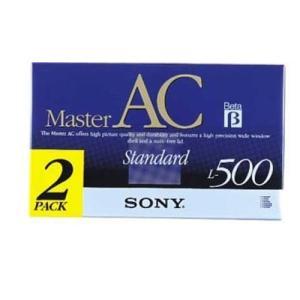 SONY ソニー ベータビデオカセット/ スタンダード L-500 2巻パック 2L-500MACB【×メール便不可】 rijapan