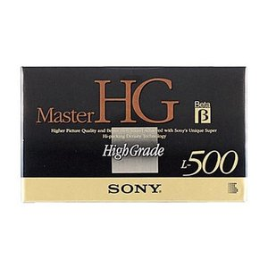 SONY ソニー ベータビデオカセット/ ハイグレード L-500 L-500MHGB【×メール便不可】 rijapan