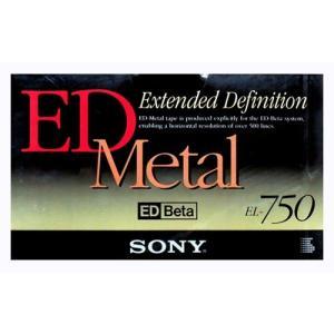 SONY ソニー ED ベータ 専用 Metal ビデオテープ βII 180分録画 βIII 270分録画 EL-750B【×メール便不可】 rijapan