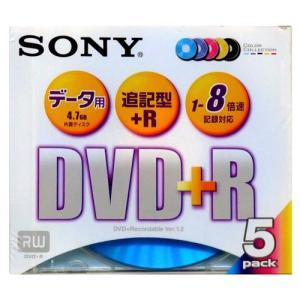 DVD+R 1回記録データ用 5枚パック 追記型 5色カラー 1-8倍速対応 5DPR47FX2 SONY ソニー|rijapan