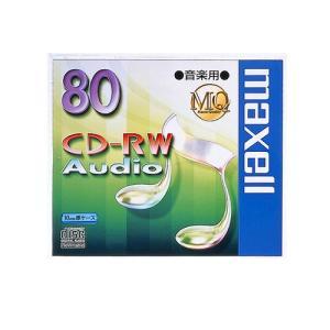 CD-RW 音楽用 書き換え型 1枚パック MQシリーズ CDRWA80MQ.1TP maxell マクセル メール便可 ポスト投函|rijapan