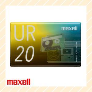 オーディオ カセットテープ 20分 UR-20N maxell マクセル|rijapan