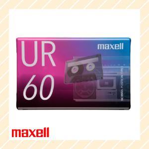 オーディオ カセットテープ 60分 UR-60N maxell マクセル|rijapan