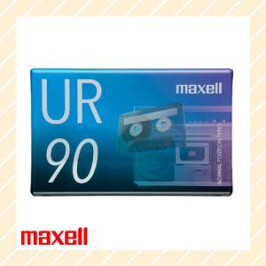 オーディオ カセットテープ 90分 UR-90N maxell マクセル|rijapan