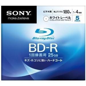 【数量限定!在庫処分のアウトレット】SONY ソニー 録画用BD-R 5枚パック 5BNR1VCPS4【×メール便不可】|rijapan