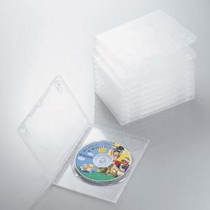 DVDトールケース 10枚組 ポリプロピレン樹脂製 クリア CCD-DVD03CR 【×メール便不可】|rijapan