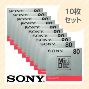 録音用ミニディスク MD 10枚(単品×10枚)セット 80分 MDW80T SONY ソニー|rijapan