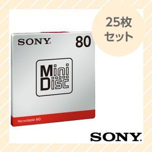 録音用ミニディスク MD 25枚(単品×25枚)セット 80分 MDW80T SONY ソニー|rijapan