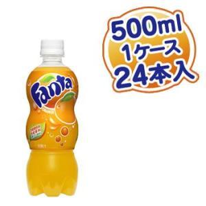 ファンタ オレンジ 500ml PET×24本入 rikaryo