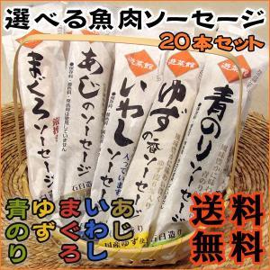 選べる魚肉ソーセージ 80g×4本×お好きな5種=計20本 愛媛 西南開発|rikaryo