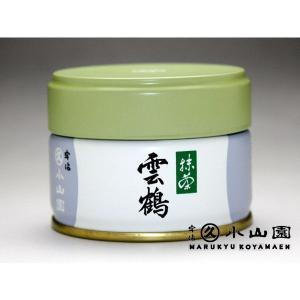 丸久小山園の抹茶 濃茶/薄茶 雲鶴20g缶詰(うんかく)|rikyuen