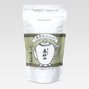 【丸久小山園】ポットバッグ 濃口煎茶 萬福山(まんぷくざん)SP袋(8g×バラ10個) rikyuen
