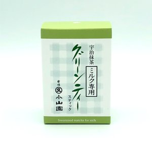 【丸久小山園】 ミルク専用グリーンティー スティック(10g×10袋)|rikyuen