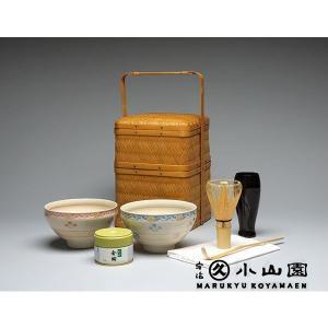 宇治銘茶【丸久小山園】竹かご抹茶詰合せ MP-360|rikyuen