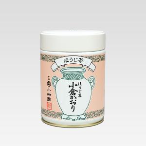 【丸久小山園】ほうじ茶 小倉かおり(おぐらかおり)40g缶|rikyuen