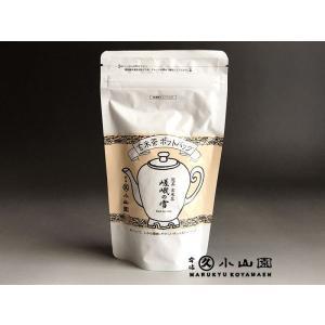 【丸久小山園】ポットバッグ 玄米茶 嵯峨の雪(さがのゆき)SP袋(8g×バラ10個)|rikyuen