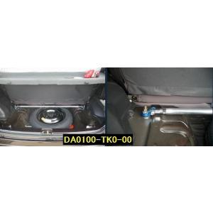 ミラ【L700】 カワイワークス トランクバー/TK ■注意事項要確認■|rim