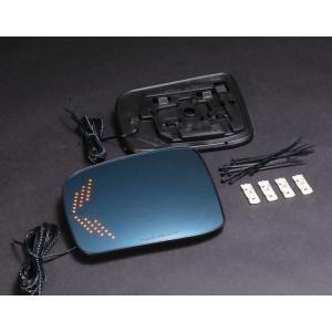 リムコーポレーション NV350キャラバン2/4WD用 ブルーLEDウイングミラー rim