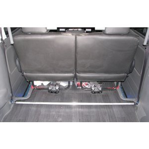 リムコーポレーション NV350キャラバン 2/4WD用  標準ボディ  Rimセンターフロアーバー【25φ】|rim