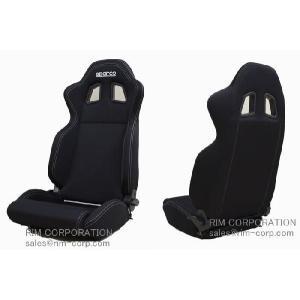 スパルコ R100 リクライニングシート【ブラック】|rim