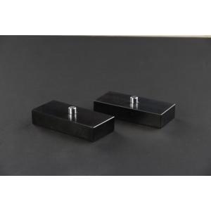 リムコーポレーション 200系 ハイエース 2/4WD用 Rim ブロック&ピン h=25mm 2個set|rim