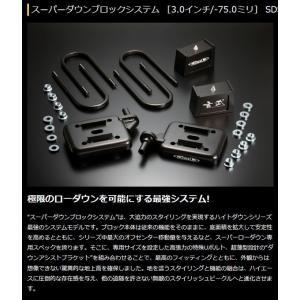 200系 ハイエース 玄武 ゲンブ  Genb スーパーダウンブロックシステム 3.0inch/-75.0mmSDS30H※代引き不可※|rim