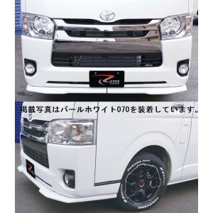 リムコーポレーション 200系 ハイエース 2/4WD用標準ボディ4型ワンタッチスポイラー 209ブラック|rim