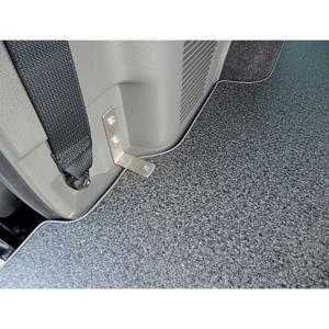 NV350キャラバン PREMIUM GX用パワースライドドア付車不可 後方2分割(2枚)フロアーボード【黒御影仕上】◆代引注文不可 受注生産品|rim|02