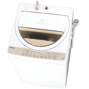 《簡単設定ですすぎ1回の節水お洗濯。最低水位12L》東芝 全自動洗濯機簡易乾燥機能付AW-6G3(W)洗濯・脱水6.0Kg