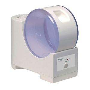 《温かい水蒸気てハワフルに加温。タンク内も衛生的てす》TEKNOS スチーム加湿器EL-S053ブル...