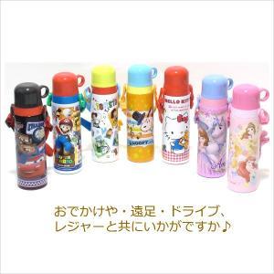 ステンレスボトル 保温保冷水筒 570ml コップ式 スヌーピー/カーズ/トイストーリー|rinasora|16