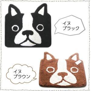 トイレマット 玄関マット バスマット キッチン インパクトアニマルマット イヌ ネコ 4種|rinasora|02