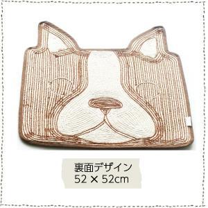 トイレマット 玄関マット バスマット キッチン インパクトアニマルマット イヌ ネコ 4種|rinasora|04