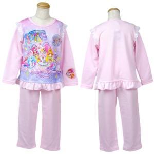 スタートゥインクルプリキュア 子供パジャマ 光る 長袖 100cm 110cm 120cm 130cm プリキュア パジャマ|rinasora|05