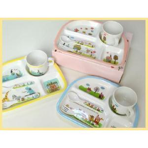 シェ・モワ メラミン4点セット キッチンウェア ギフトセット 3色 |rinasora