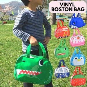 プールバッグ ビーチバッグ ビニールボストンバッグ 子供 キッズ ビーチバック プールバック バッグ 夏用バッグ|rinasora