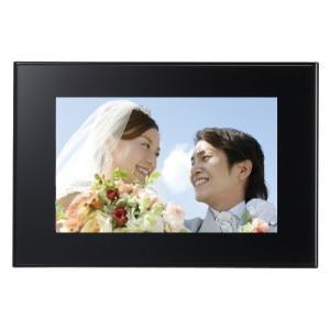 FUJIFILM デジタルフォトフレーム 7インチ 内蔵メモリー1GB 解像度800×480 ブラッ...
