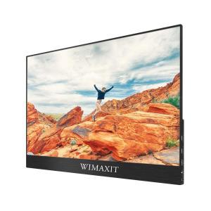 WIMAXIT 15.6インチタッチモニター モバイルディスプレイ 1080P IPSタッチパネル ...