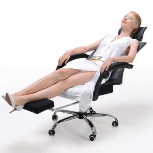 Hbada 人間工学 オフィスチェア 椅子 メッシュチェア デスクチェア ハイバック フットレスト付...