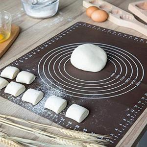 製菓マット 食品級シリコーン 樹脂 マット 目盛り付きマット パンマット 調理 製菓道具 クッキングマット シリコンマット ECO 梱包|rinco-shop