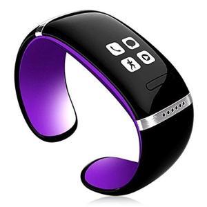 NR LEDタッチスクリーン Bluetooth3.0 男女兼用腕時計 ブレスレット スマートウォッチ スマートブレスレット ハンズフリー L6 ハン