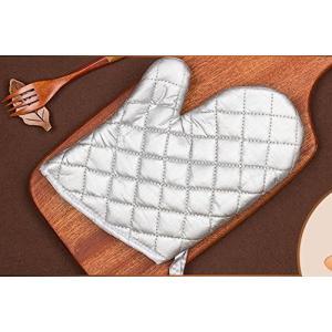 新品耐熱グローブ 耐高温手袋 ベーキング 焙煎ツール オーブン バーベキュー 陶芸 パン焼き 高温窯出し作業 キッチン断熱手袋 二重構造 厚手 滑り止|rinco-shop